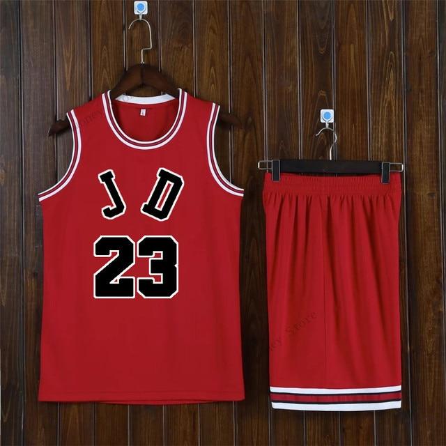 bae7f65a4c3 Adsmoney Blank Basketball Star Suit Team Name Logo Custom Usa Red Basketball  Throwback Cheap Sleeveless Basketball Uniforms DIY-in Basketball Jerseys  from ...