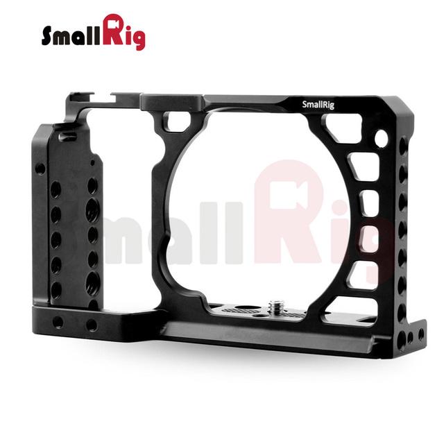 Jaula dslr cámara rig para sony a6500 smallrig aluminio alloy-1889