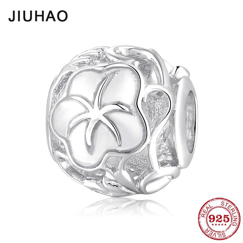 Calvas Jewelry Genuine 925 Sterling Silver Dancing Charm Beads Fit European Troll 3.0mm Bracelet