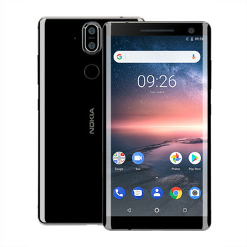 NOKIA 8 Sirocco 6 gb RAM 128 gb ROM Snapdragon 835 2.36 ghz Octa Core 5.5 pouce 2 k Écran IP67 Étanche Android 8.1 LTE Smartphone