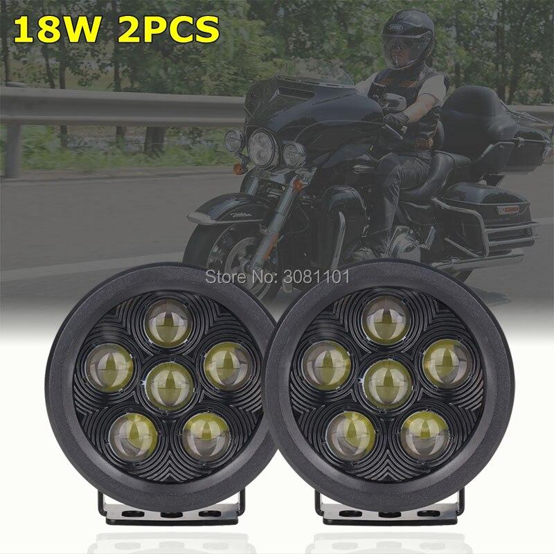 1 пара 3,5 дюймов 18 Вт круглый светодиодный проектор Подсветка бездорожью Pod Spotlight Для Jeep внедорожник ATV лодки автомобили грузовики