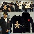 2016 Top Special Offer Zipper Full Assassins Creed Sweatshirt Chandal Hombre Vixx Kpop Hoodie Chained Up Bts Exo Utopia K-pop