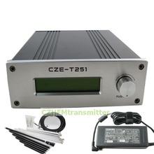 CZH CZE-T251 0-25 Вт мощность регулируемый Профессиональный FM стерео вещания передатчик+ 1/4 GP антенна комплект