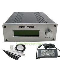 CZH CZE T251 0 25 Вт мощность регулируемый Профессиональный FM стерео передатчик + 1/4 антенна GP комплект