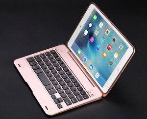 Image 3 - חדש ABS עבור iPad מיני 4 מקרה עם מקלדת כיסוי A1538 A1550 USB Bluetooth אלחוטי עבור iPad mini 4 מקלדת כיסוי 7.9