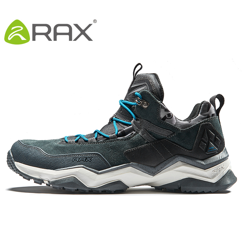 RAX Mens Waterproof Hiking Shoes Women Trekking Hiking Boots Shoes Outdoor Climbing Mountaineering walking shoes Men sneakers rax men breathable hiking shoes mens outdoor sneakers trekking walking aqua shoes lightweight sport shoes mountaineering boots