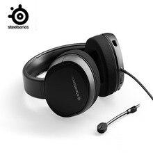 SteelSeries Arctisดิบคอมพิวเตอร์7.1หูฟังชุดหูฟังสำหรับเล่นเกมE Sportsหูฟังโทรศัพท์มือถือลดเสียงรบกวนCF