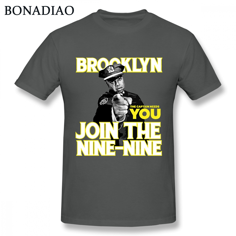 Brooklyn 99 Nine Nine Ray Holt T Shirt Hip Hop Style Streetwear Tee Shirt Round Neck Pure Cotton Big Size Camiseta image