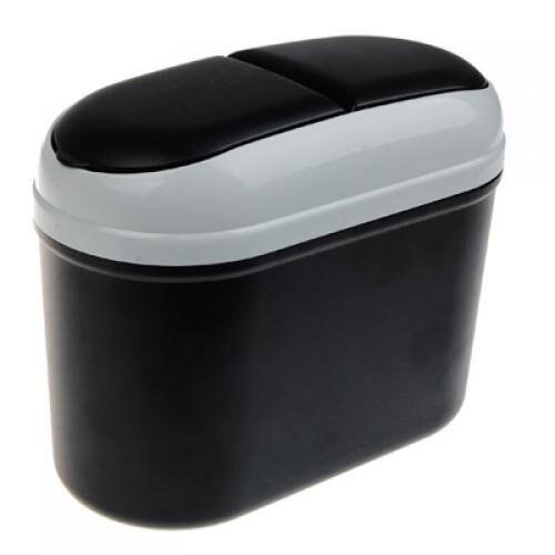 PHFU Wholesale Mini Car Trash Rubbish Can Garbage Dust Case Holder Bin