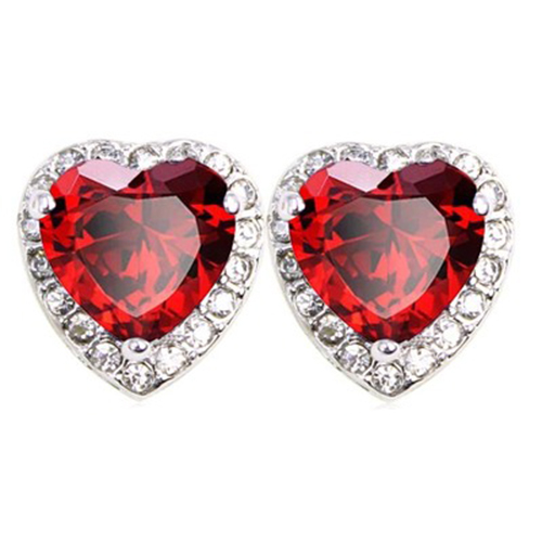 Valentines Day Gifts Earrings Girls And Women Heart Jewelry