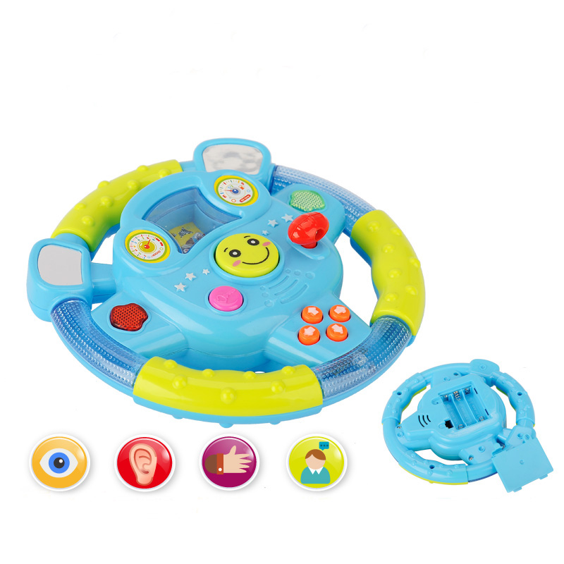 hot baby car toy steering wheel for seat kids