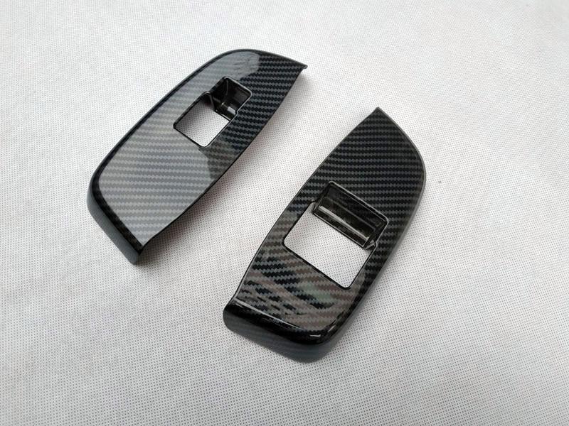 For NISSAN NV200 Evalia 2010 2018  interior Door handle Armrest Cover Sticker trim chrome car accessories (9)