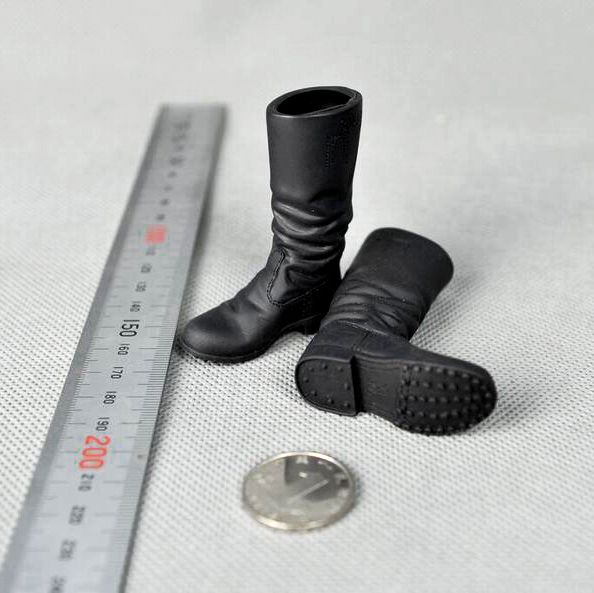 1/6 Scale WWII Soldier Combat Shoes Model for 12 inches Male Action Figures Accessories 1 6 soldier action figure the dark zone agent renegad model accessories full set figures