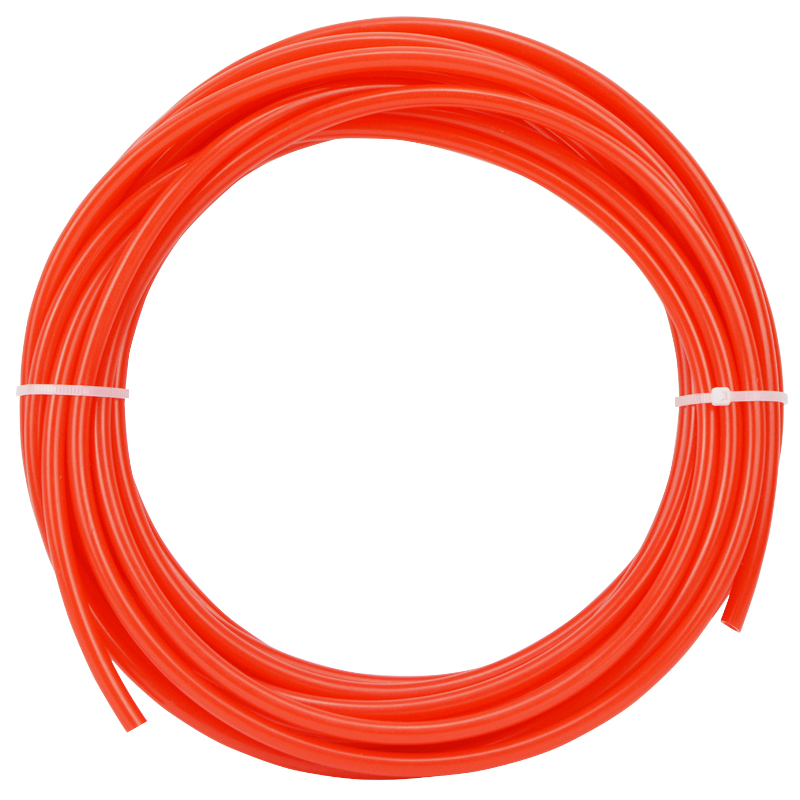 RO Water Filter Waterpipe 1/4'' Import Tubing Red Color 10 Meters Length Hose Refrigerator Ice Makers Connect Tube 1 4   chrome drinking ro water filter