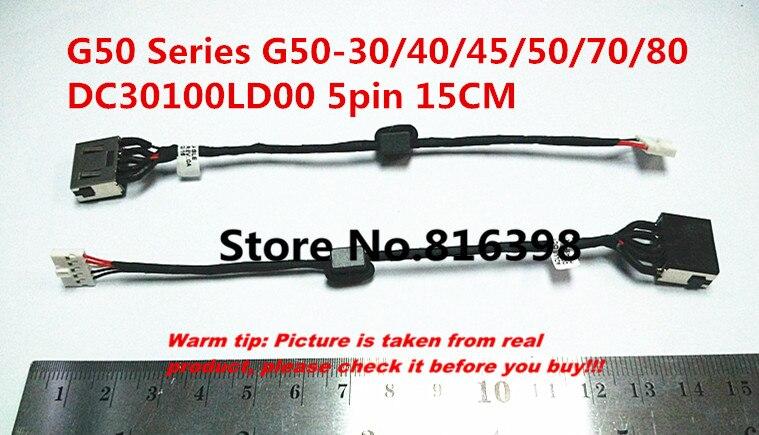 Free shipping New FOR Lenovo G50 G50-30/40/45/50/70/80 M50 Z50 DC jack DC in cable Free Shipping DC30100LD00 DC30100LG00 free shipping for lenovo g50 g50 70 g50 45 g50 30 80 g40 70 power supply interface power supply header