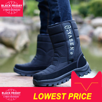 Men snow boots camouflage platform men winter shoes high quality warm non slip waterproof men winter boots for 40 degrees