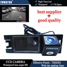 FUWAYDA CCD Car Reverse Camera Backup RearView Reversing Parking Kit Night Vision FOR HYUNDAI I30/I35 /GENESIS COUPE/KIA SOUL