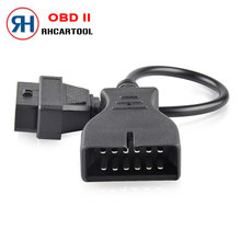 OBD2 60/100 cm Extension cable Connector Adapter for GM 12 Pin GM12 to 16 Pin Auto Diagnostic Cable For GM Vehicles Car adapter(China)