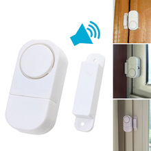 Doorbell Wireless Home Security Door Window Entry Burglar Alarm Signal Safety Switch Magnetic Sensor Guardian Protector LCC