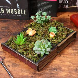 Image 2 - WINOMO 3 упаковки искусственная трава мох имитация Декор зеленые растения искусственная трава мох лишайник Сад домашний декор патио A20