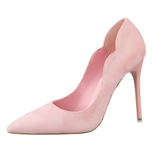 Hot Sale Women Elegant Shoes Extreme High Heels Wedding Dress Flock Bigtree Designer Luxury Brand Pumps K0001