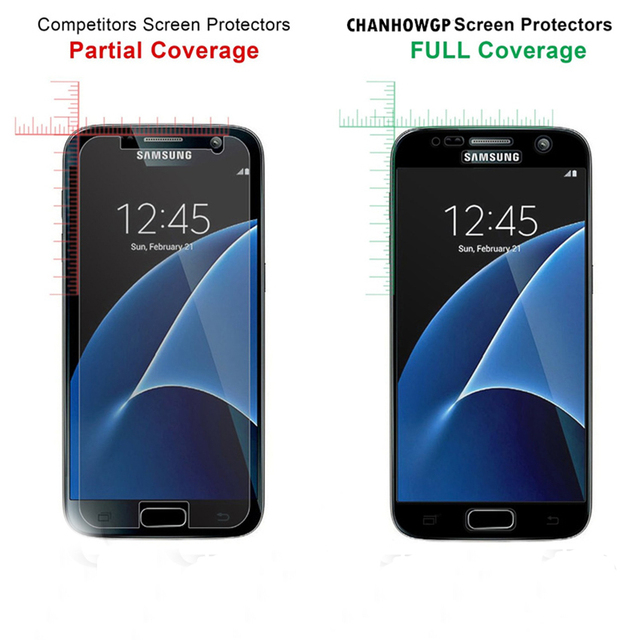 Tempered Glass For Samsung Galaxy A7 A5 A3 2016 2017 Glass film For Samsung J3 J5 J7 2016 2017 Full Cover Screen Protective film