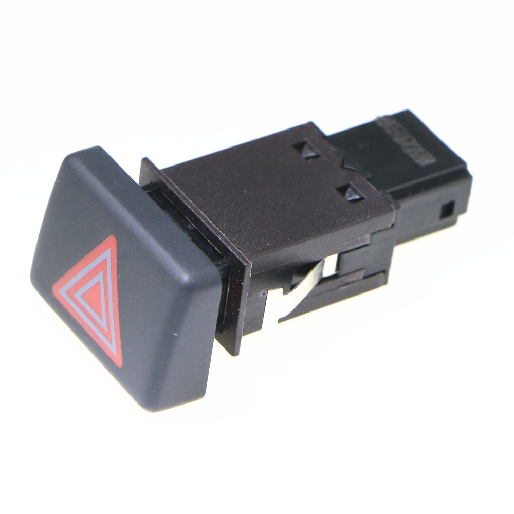 HONGGE 5 PcsNew Hazard Warning Emergency Light Switch Button For A4 S4 B6 B7 RS4 8ED941509 8E0941509 8ED 941 509 8E0 941 509