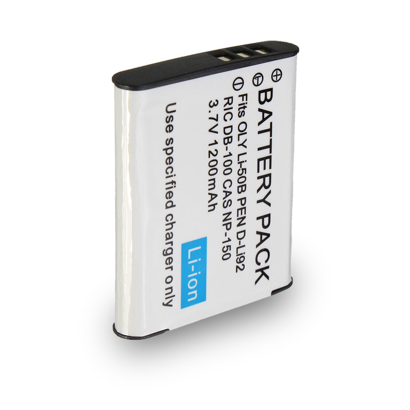 1200mah Li-50B LI 50B D-Li92 DB-100 CNP-150 Camera Battery for OLYMPUS SP 810 800UZ u6010 u6020 u9010 SZ14 SZ16 SZ30 D755 u1010