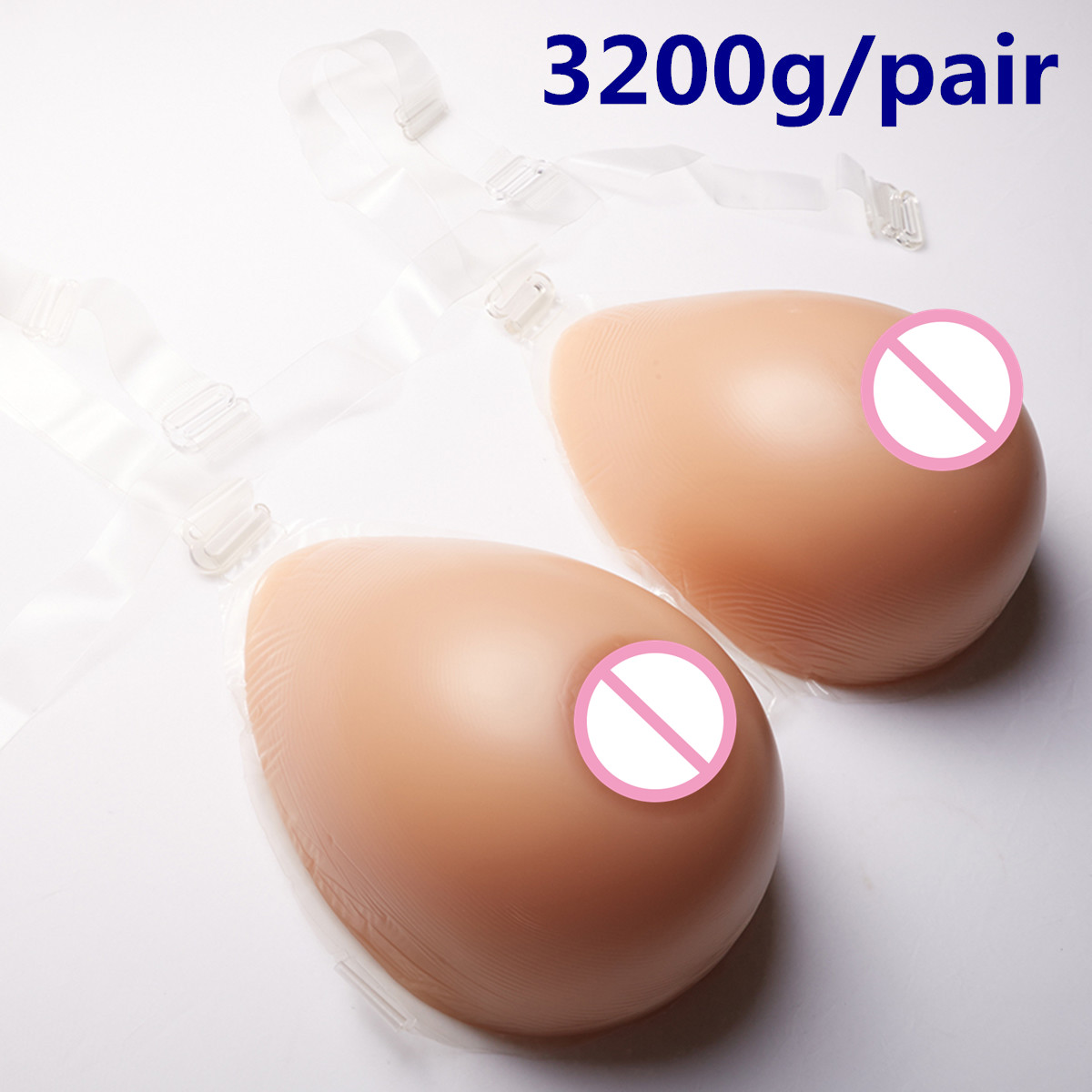 Realistic Breast Prosthesis 3200g/pair Transgender Silicone Breast Forms Artificial Breast Brown False Boobs artificial breast boobs cup h 3200g pair realistic breast prosthesis silicone breast forms for crossdresser transgender
