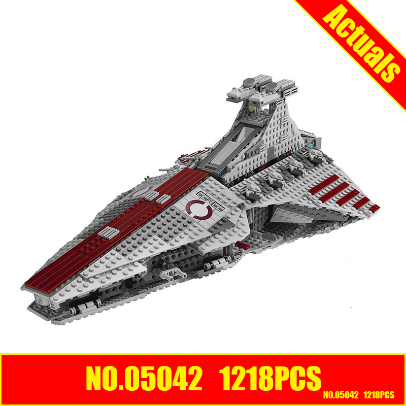 LEPIN 05042 Star Wars Venator-class Republic Attack Cruiser similar with 8039 building kit