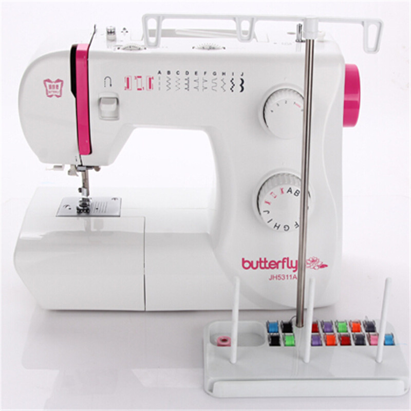 ᗕWCIC Adjustable Thread Holder 40 Spools Sewing Bobbin Embroidery Magnificent How To Thread A Bobbin On A Sewing Machine