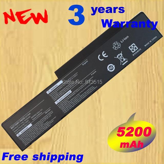 6 Células 10.8 V 5200 mAh Da Bateria Do Portátil Para BenQ Packard Bell EUP-PE1-4-22 SQU-701 SQU-712 SQU-714 EUP-P2-4-24
