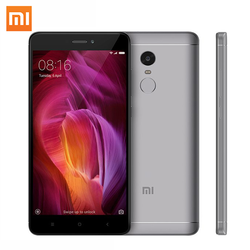 Global Version Xiaomi Redmi Note 4 3GB RAM 32GB ROM Mobile Phone Snapdragon 625 Octa Core