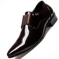 Fashion Men Oxford Shoes Lace Up Casual Business Men Shoes Brand Men Wedding Shoes Men Dress