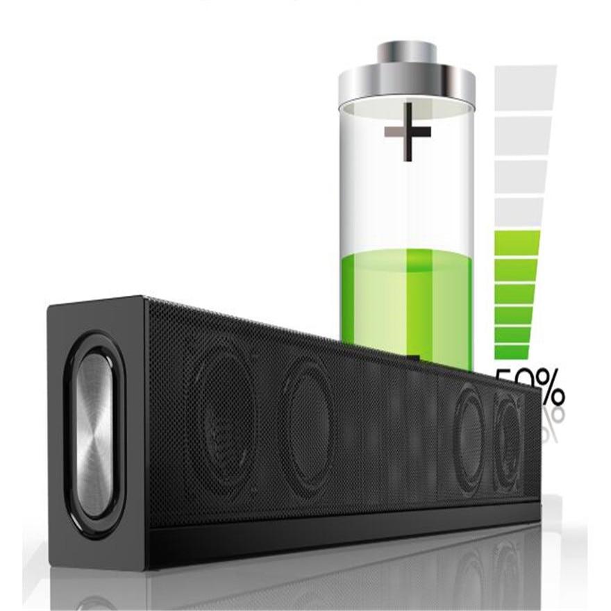 Bluetooth Cordless Speaker 20W High Power Sound Bar Hifi System Radio Column Music Box With Bluetooth For The Phone Laptop