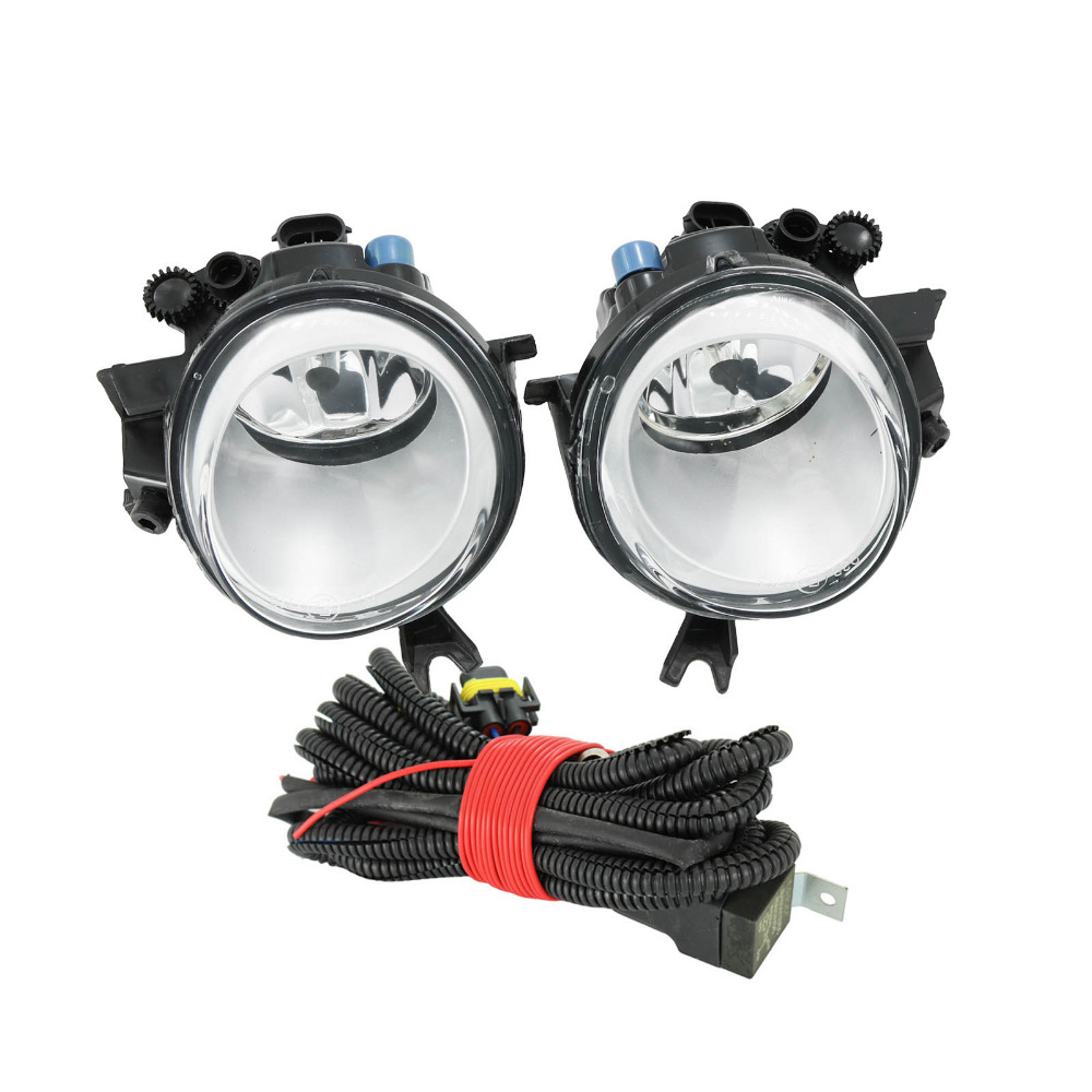 For VW Touareg 2003 2004 2005 2006 2007 2008 2009 2010 Car Styling Halogen Front Bumper Fog Lamp Fog Light With Bulb And Wire