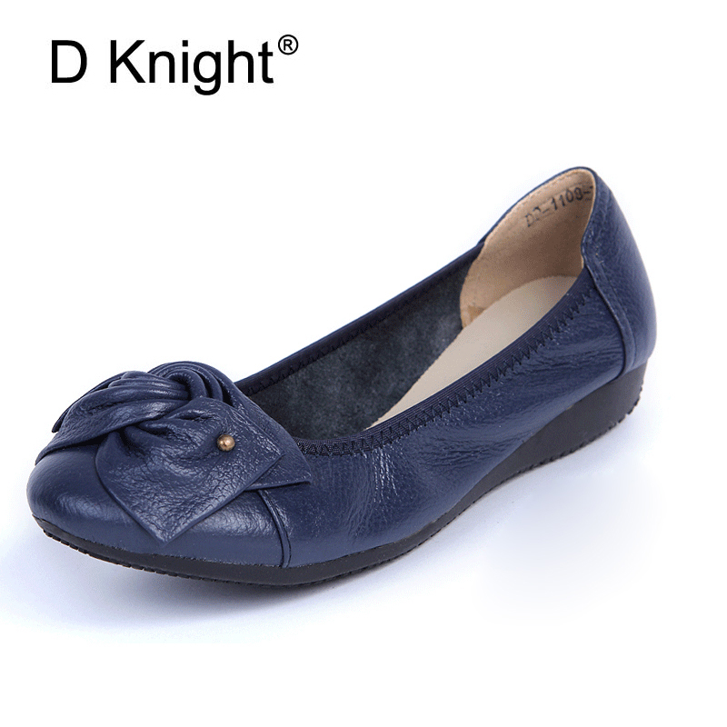 First layer of cowhide genuine leather cow muscle women's flat shoes comfortable women flats casual cow leather ballet flats cow milk of sodium carbonate decahydrate cosme cow 430ml