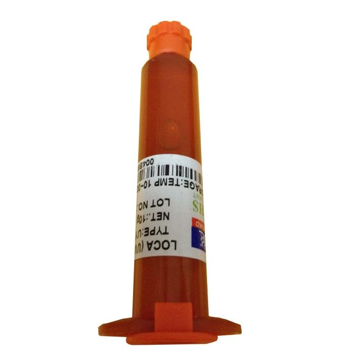 5 teile//los UY-2500 UV Kleber Handy Glaslinse Reparatur Uv-kleber LOCA Flüssige Optische Klare Klebstoff