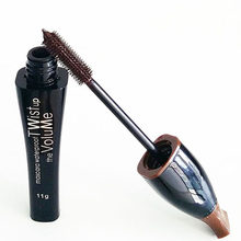 Multi-Color Cosmetic Long Fiber Curl Mascara Eyelash Extension Grower Makeup TF(China)