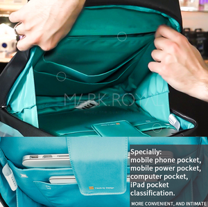 Image 3 - Original Xiaomi Mi Backpack Urban Life Style Shoulders Bag Rucksack Daypack School Bag Duffel Bag Fits 14 inch Laptop portable