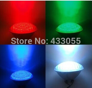 40W Par56 RGB LED Swimming Pool Light Waterproof IP68 12V Underwater Flood Lights Fountain Lamp 12 Volts Par56 558leds CE ROSH 10w 12v underwater led light 1000lm waterproof ip67 fountain swimming pool lamp lights warm white white flood light lamp