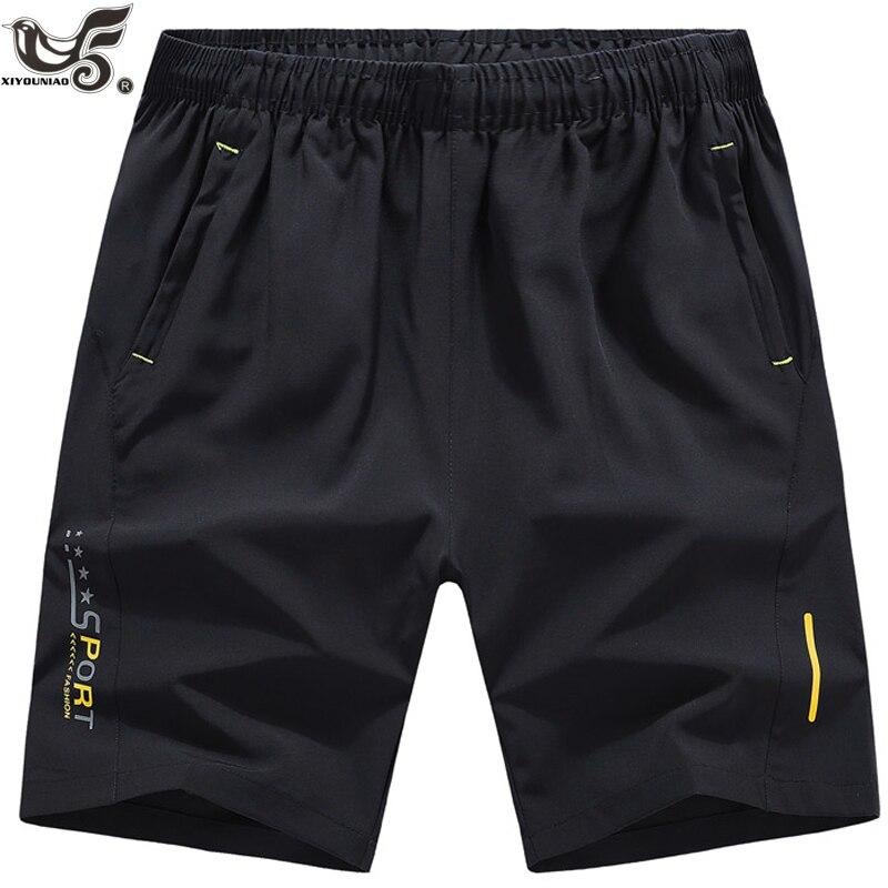 XIYOUNIAO plus size M~10XL Men summer   shorts   gyms Bodybuilding Casual Joggers workout sporting   short   pants Sportswear Sweatpants