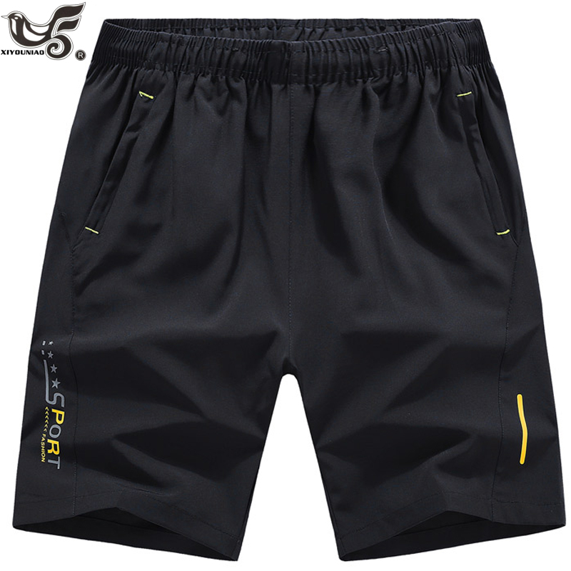 XIYOUNIAO Plus Size M~10XL Men Summer Shorts Gyms Bodybuilding Casual Joggers Workout Sporting Short Pants Sportswear Sweatpants