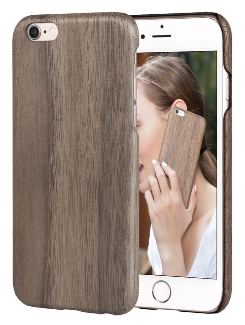 san francisco c75c4 fb35e US $27.99 |PITAKA Walnut Wood Ultra Thin Nature Top Class Rare Wooden Case  For iPhone 6/ iPhone 6s 4.7 inch on Aliexpress.com | Alibaba Group