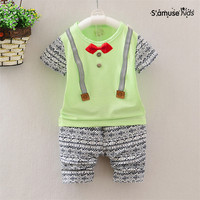 New Arrive Baby Boys Clothes Summer 2017 New Toddler Baby Girls Clothing Set Kids Summer Children
