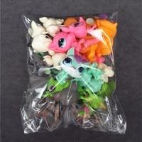 10pcs Bag Toy Bag Little Pet Shop LPS Random Style Original Cartoon Anime Action Figures Mini