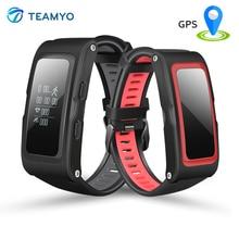Teamyo T28 умный Браслет независимых GPS траектории с Давление высота фитнес-трекер активности монитор сердечного ритма Смарт