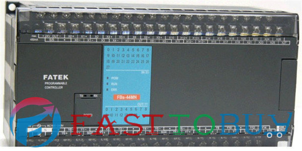 PLC Fatek FBs-44MNR2-AC 24VDC Digital input 20 relay output 8 System Unit 1 COM New Original brand new original plc digital input 36 transistor output 24 system main unit 1 com fbs 60mct2 ac 24vdc