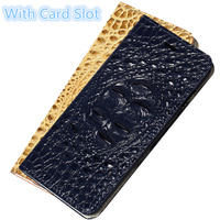 CH02 Genuine Real Leather Flip Case Cover for Asus Zenfone 2 Laser ZE601KL Flip Case For Asus Zenfone 2 Laser(6.0') Phone Cover