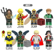 X0177 compatible LegoINGlys AvengersING Marvel role Neptune flash Different magic Divine power warrior Collection child Building